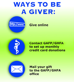 Contact Page - Ways to Give